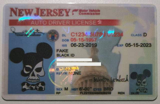 new jersey fake id for sale online