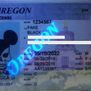 OREGON (NEW OR) fake Ids for sale