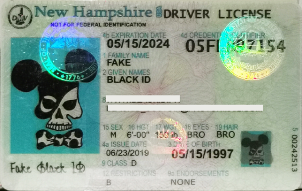 Hampshire (new NH) fake id for sale