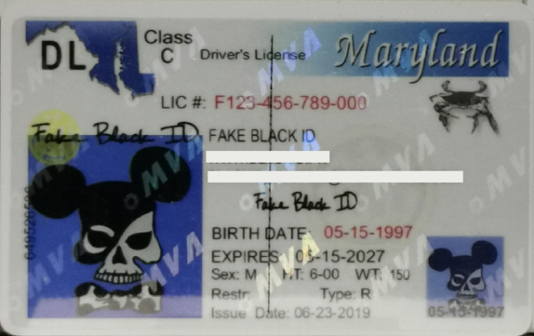 Maryland fake driver's license for sale near me